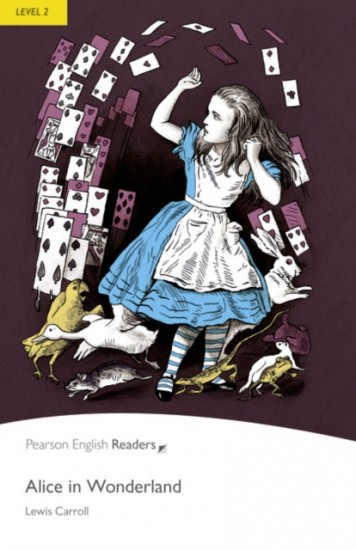 Pearson English Readers 2 Alice in Wonderland Book + MP3 audio CD Pack