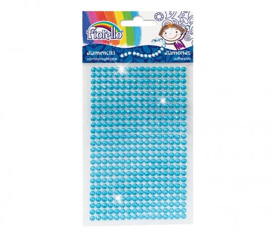 Kamínky dekorace, puntík modrá