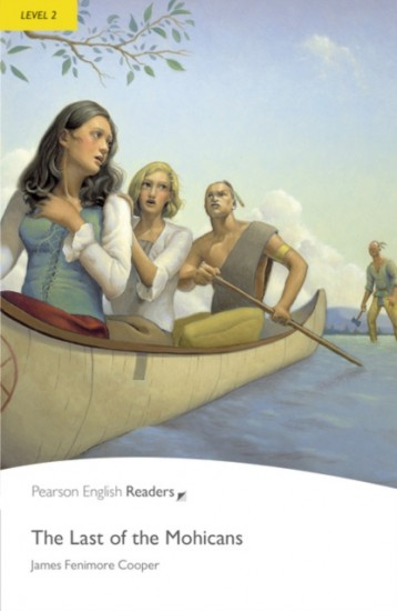 Pearson English Readers 2 Last of the Mohicans Book + MP3 audio CD Pack