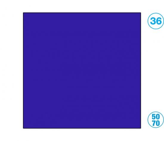 Papír barevný 50 x 70cm modrá ultramarin