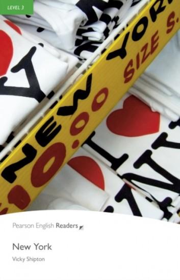 Pearson English Readers 3 New York Book + MP3 Audio CD