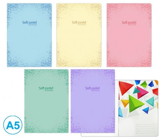 Sešit A5 linka 52l Soft pastel : 8606013569613