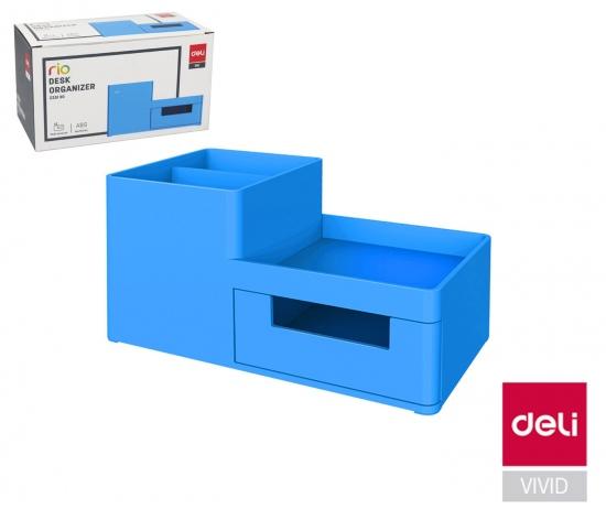 Stojánek plastový DELI EZ25130 modrý : 6935205372390