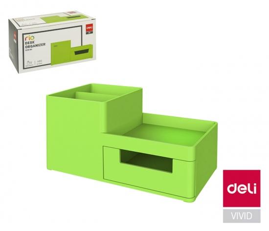 Stojánek plastový DELI EZ25150 zelený