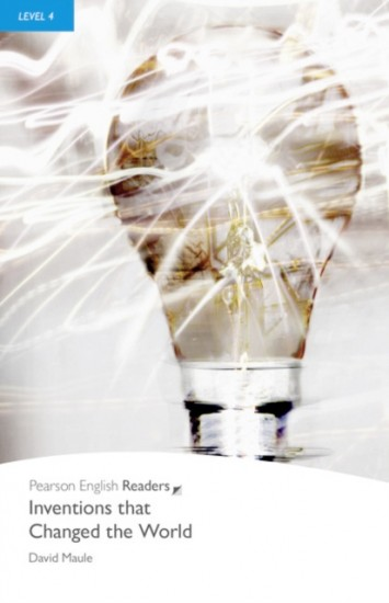 Pearson English Readers 4 Inventions that Changed the World Book + MP3 audio CD