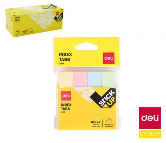 Záložky STICK UP pastel mini set DELI EA11002