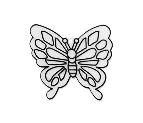 Závěsná sklíčka - 2. MOTÝL 1590-02