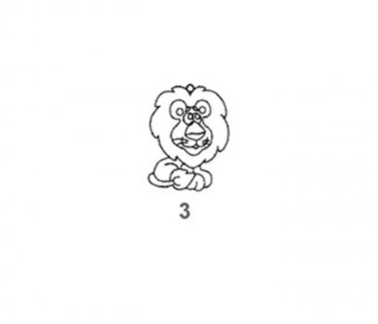 Závěsná sklíčka - 3. LEV 1590-03