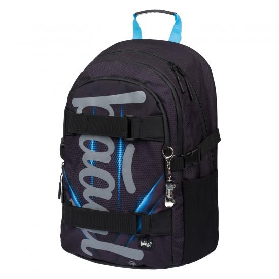 BAAGL Školní batoh Skate Bluelight : 8595054285708