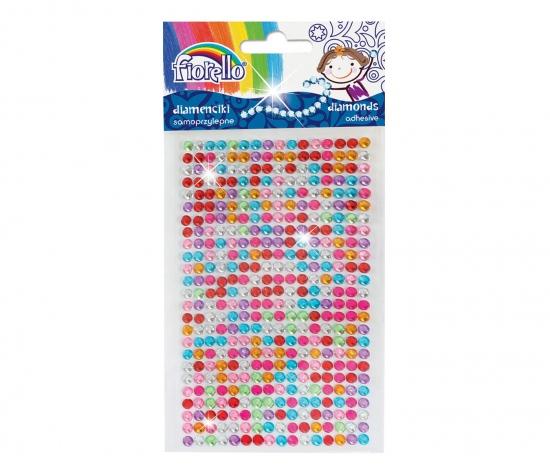 Kamínky dekorace, puntík mix barev : 5903364278489