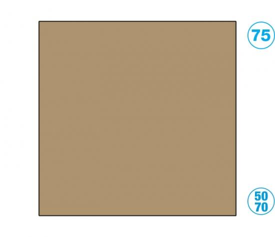 Papír barevný 50 x 70cm hnědý světle : 4001868161755