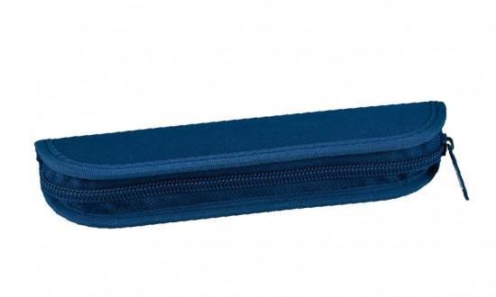 Pouzdro jednobarevné SM - 6 gumiček modrá : 8591577058355