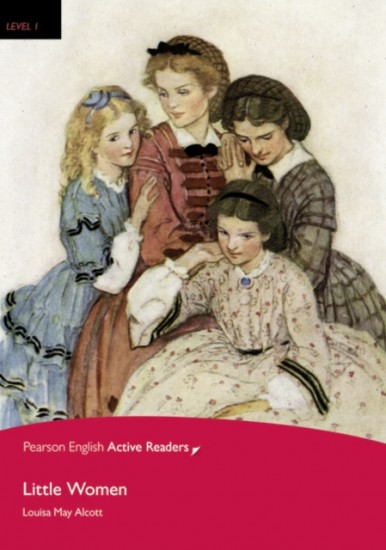 Pearson English Active Reading 1 Little Women Book + MP3 Audio CD / CD-ROM