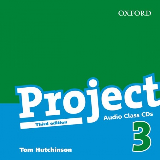Project 3 Third Edition Class Audio CDs (2)