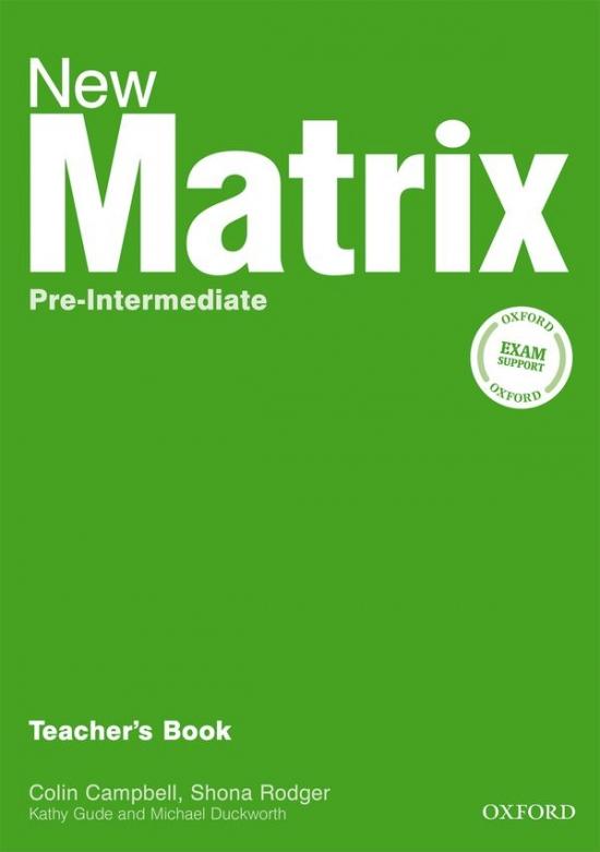 New Matrix Pre-Intermediate Teacher´s Book