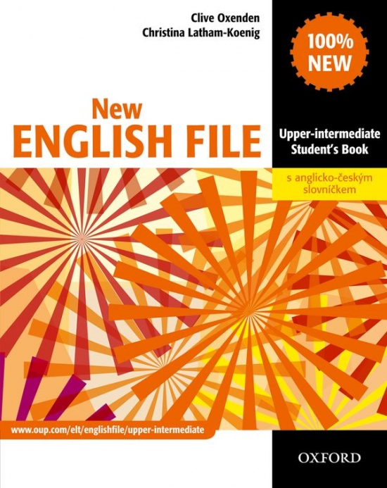 New English File Upper-Intermediate Student´s Book with CZ wordlist