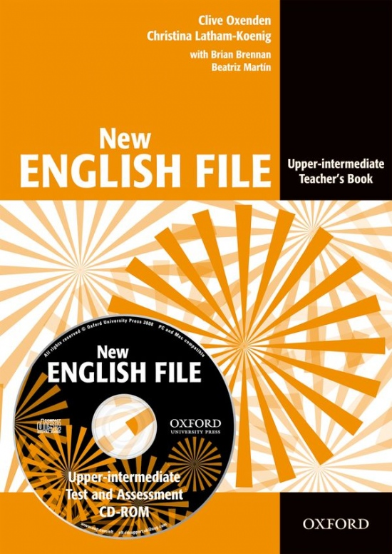 New English File Upper-Intermediate Teacher´s Book with Test and Assessment CD-ROM
