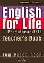 English for Life Pre-Intermediate Teacher´s Book Pack