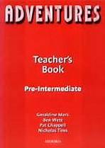 Adventures Pre-Intermediate Teacher´s Book : 9780194703383