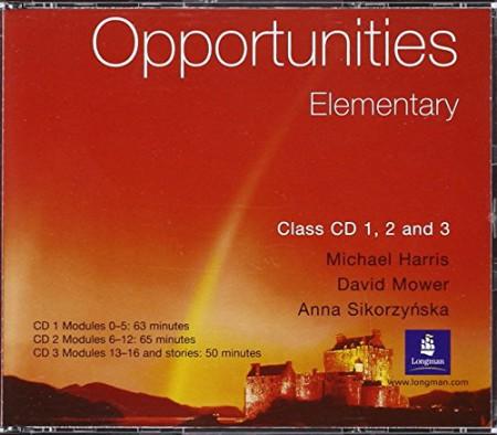Opportunities Elementary Class CD : 9780582770959