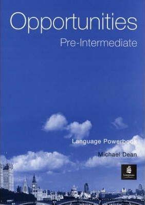 Opportunities Pre-Intermediate Language PowerBook : 9780582421417