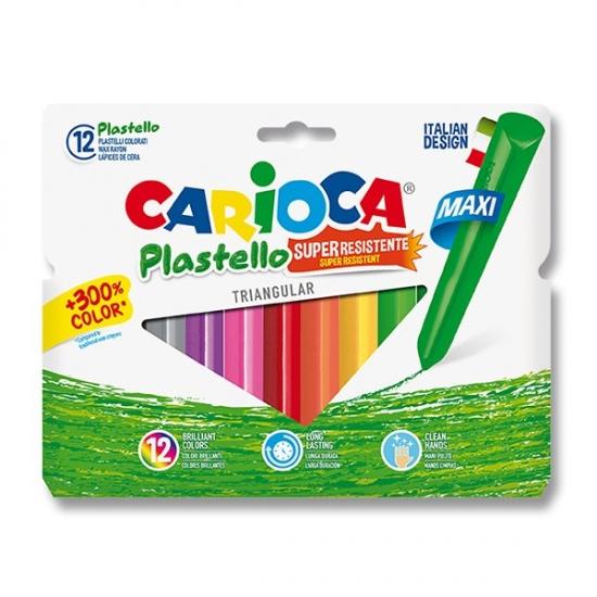 Pastely Plastello Maxi 12 barev
