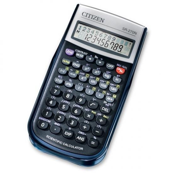 Vědecký kalkulátor SR-270N černá : 4562195131700