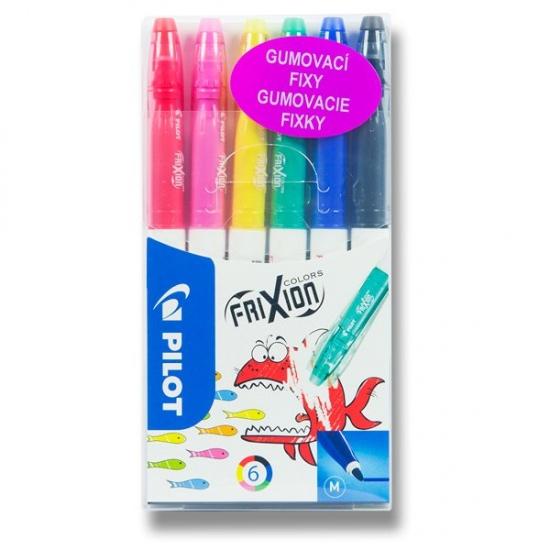 Fixy FriXion Colors sada 6 ks