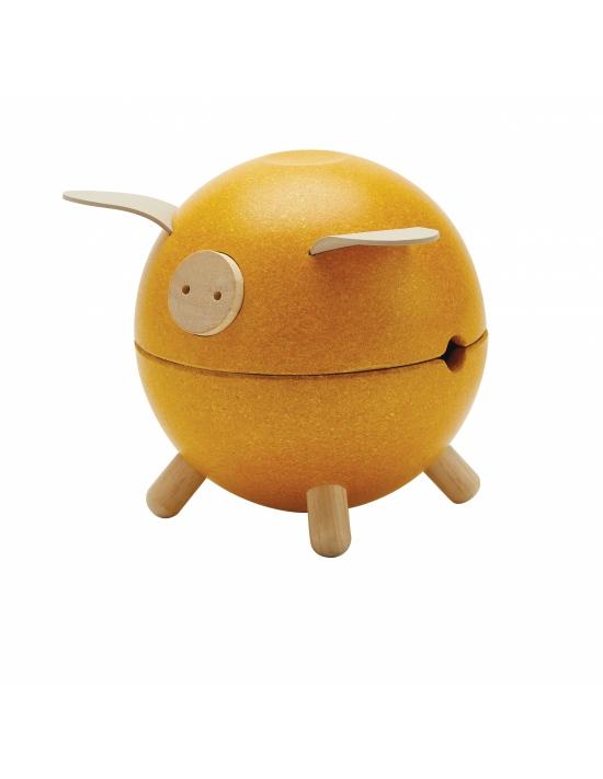 Kasička - žluté prasátko