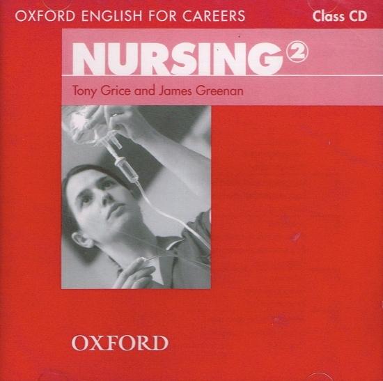 Oxford English for Careers Nursing 2 Class Audio CD