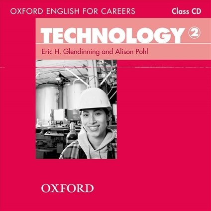 Oxford English for Careers Technology 2 Class Audio CD