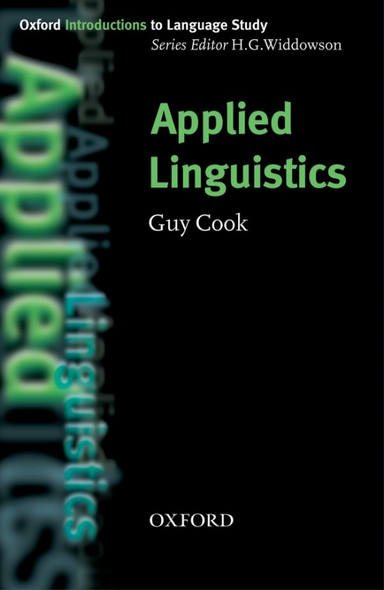Oxford Introductions to Language Study Applied Linguistics