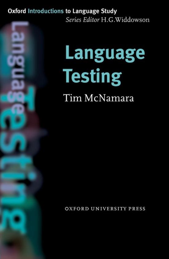Oxford Introductions to Language Study Language Testing