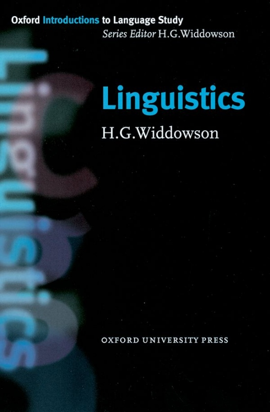 Oxford Introductions to Language Study Linguistics