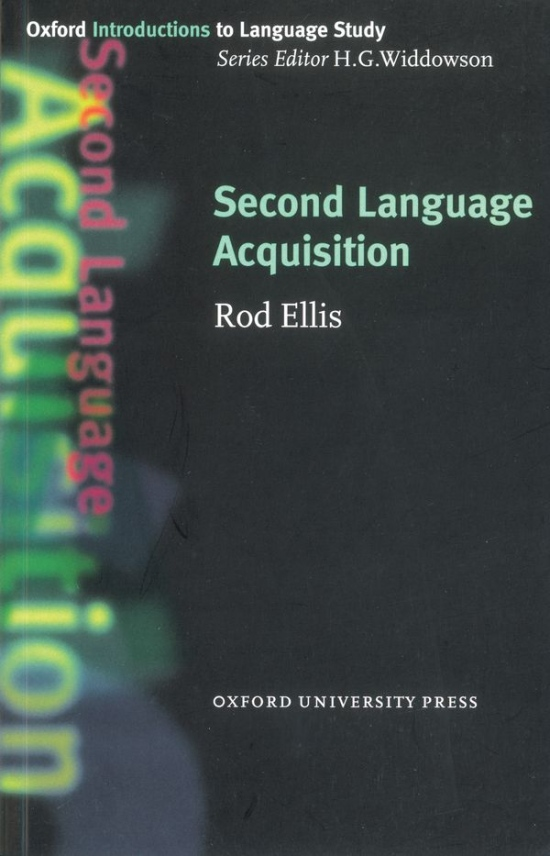 Oxford Introductions to Language Study Second Language Acquisition
