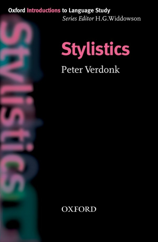 Oxford Introductions to Language Study Stylistics