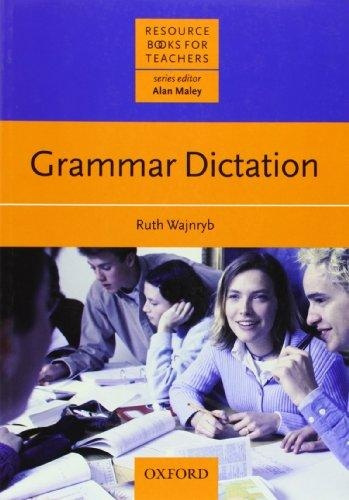 Resource Books for Teachers Grammar Dictation