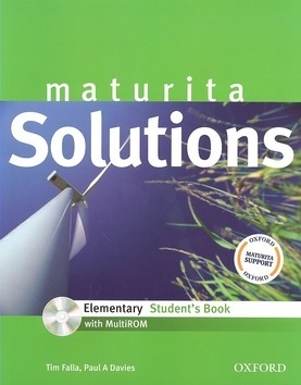 Maturita Solutions Elementary Student´s Book with MultiROM Pack Czech Edition
