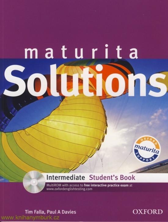 Maturita Solutions Intermediate Student´s Book with MultiROM Pack Czech Edition