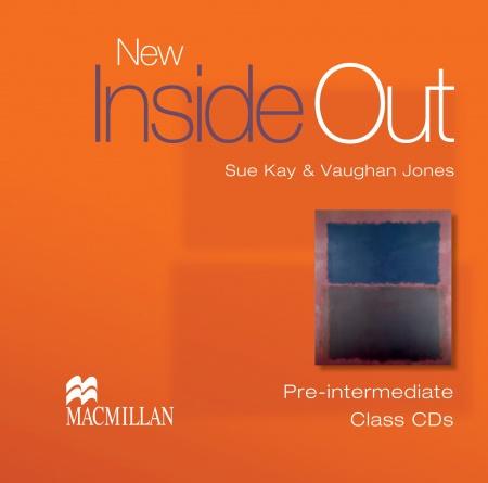 New Inside Out Pre-Intermediate Class Audio CDs (3)