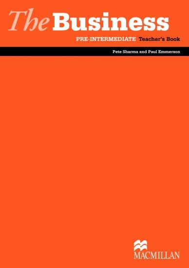 The Business Pre- Intermediate Teacher´s Book