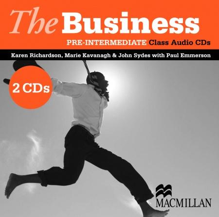 The Business Pre- Intermediate Class Audio CDs (2)