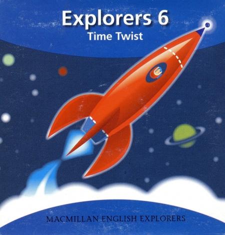 Explorers 6 Time Twist Audio CDs (2)
