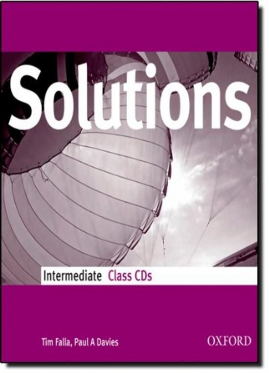 Maturita Solutions Intermediate Class Audio CDs (2)