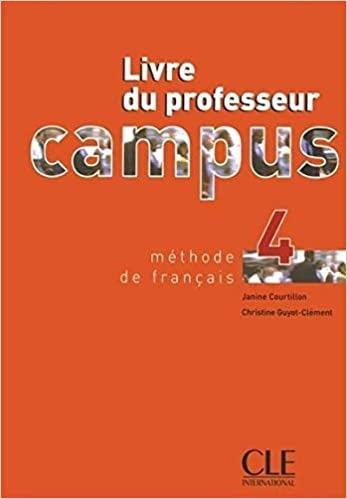 Campus 4 guide pédagogique