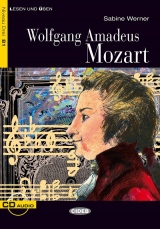 BLACK CAT - Wolfgang Amadeus Mozart + CD (B1)