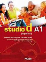 Studio d A1 cvičebnice doprodej