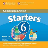 Cambridge Young Learners English Tests Starters 6 Audio CD