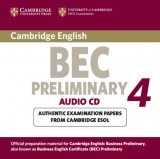 Cambridge BEC Preliminary 4 Audio CD