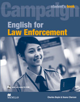 English for Law Enforcement Student´s Book with CD-ROM